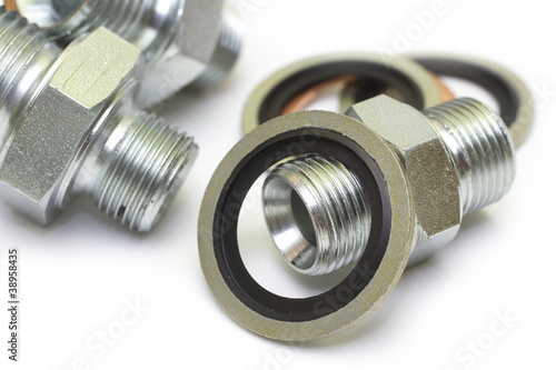 nipple and sealing rings