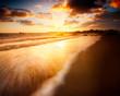 Beautiful Sunrise over an Australian Beach