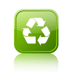 Recycle green button