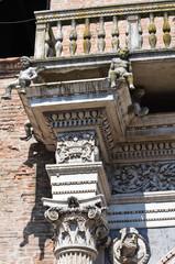 Prosperi-Sacrati Palace. Ferrara. Emilia-Romagna. Italy.