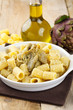 Pasta with artichoke