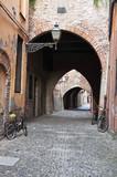 Via delle Volte. Ferrara. Emilia-Romagna. Italy. poster