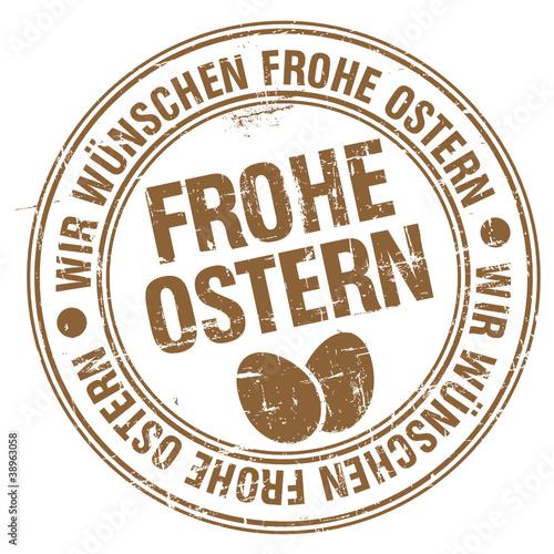Stempel - Wir Wünschen Frohe Ostern (I)