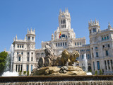 Cibeles Fountain and Cibeles Palace, Madrid