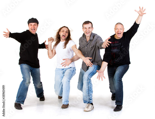 mens on a white background