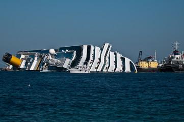 Naufragio Costa Concordia Isola del Giglio - 14 Febbraio 2012