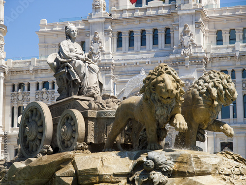 La Cibeles Fountain, Madrid