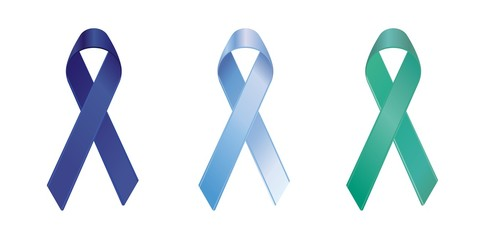 prostate and liver cancer/hepatitis b awareness ribbons