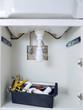 Washbasin plumbing fixtures