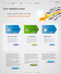 web design vector concept, easy editable