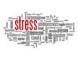 """Nuage de Tags """"STRESS"""" (anxiété dépression surmenage mots-clés)"""