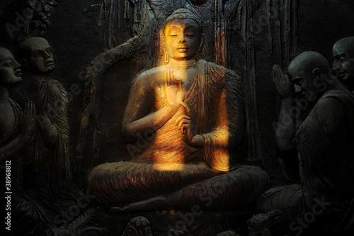 Buddhist mural - 38968812