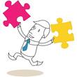 Geschäftsmann, Puzzleteile 2