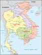 Thailand, Vietnam, Laos, Kambodscha