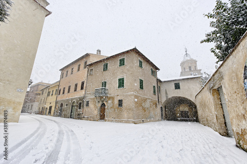 Nevicata Orbetello