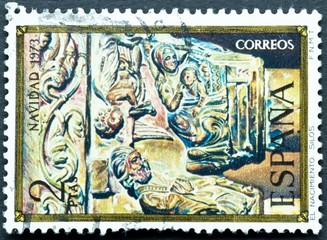Stamp Collection Spain