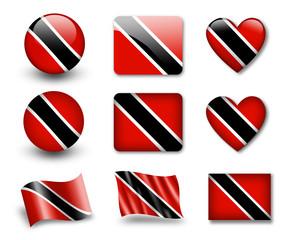The Trinidad and Tobago flag