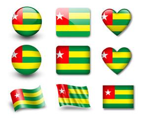 The Togo flag