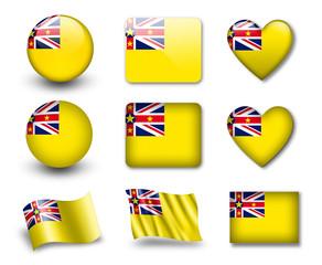 The Niuean flag