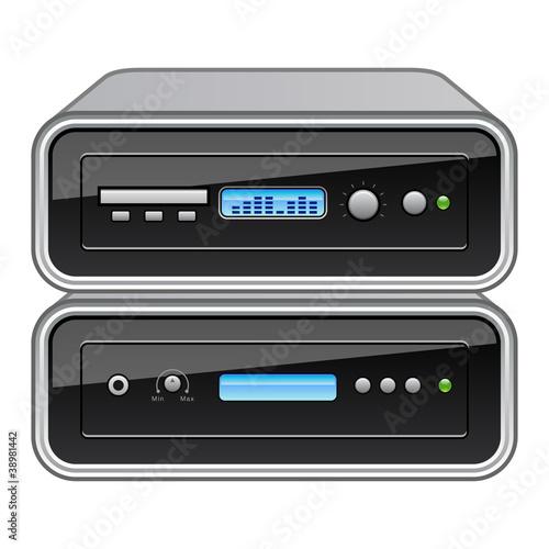 stereoanlage stockfotos und lizenzfreie vektoren auf. Black Bedroom Furniture Sets. Home Design Ideas
