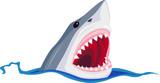 Angry shark - 38982425