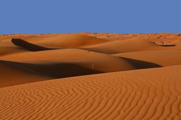 Oman, Dunas de arena en el desierto Wahiba Sands
