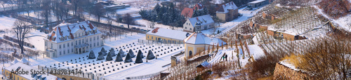Radebeul Schloss Wackerbarth Winter  02