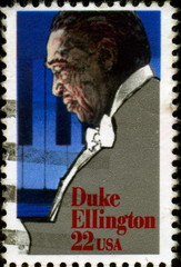 Duke Ellington.1899 - 1974. Us Postage