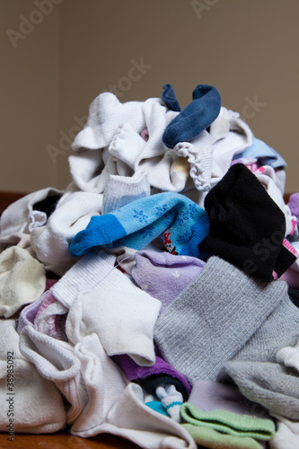 Pile of Socks to Be Sorted