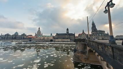 Dresden - Eisgang