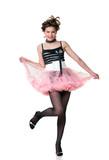 Fashionable dancer