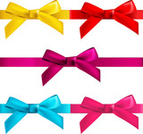 gift  bows with ribbons