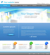 Web site design city template