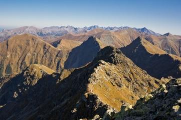 Western Tatras (Rohace), dangerous peaks for hiking