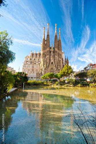 Sagrada Familia, Barcelona, ??Hiszpania.