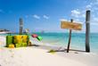 Fototapeten,stranden,karibik,stress,dock