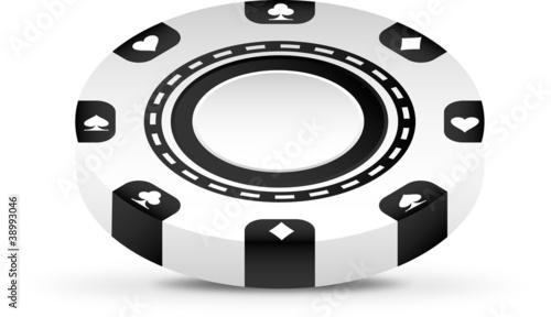 3d casino chip