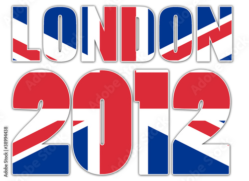Jeux Olympiques de Londres 2012 - drapeau anglais