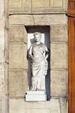 statue boulevard Richard Lenoir poster