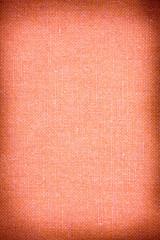 fondo tessuto arancio