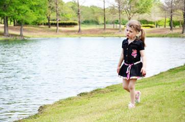 Little Girl Walk