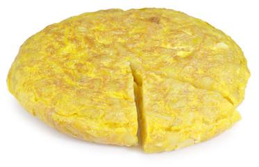 Tortilla de patata .española