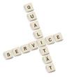Bausteine Qualität Service