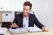 Betriebsprüfung vom Finanzamt im Büro