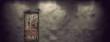 Leinwanddruck Bild - Ancient wooden door
