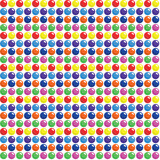 Seamless Candy Dots Pattern