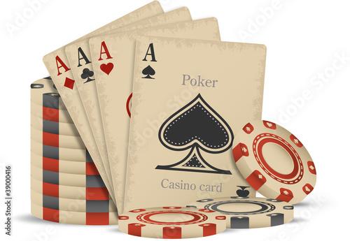 Old casino set