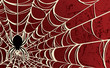 Spider Background—Red - 39000602