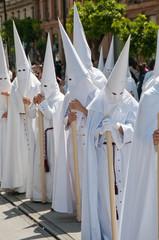 Religiöser Umzug in Spanien