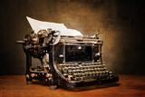 Fototapete Schreiben - Retro - Büromaterial